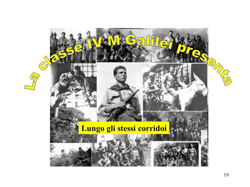 La classe IV M Galilei presenta