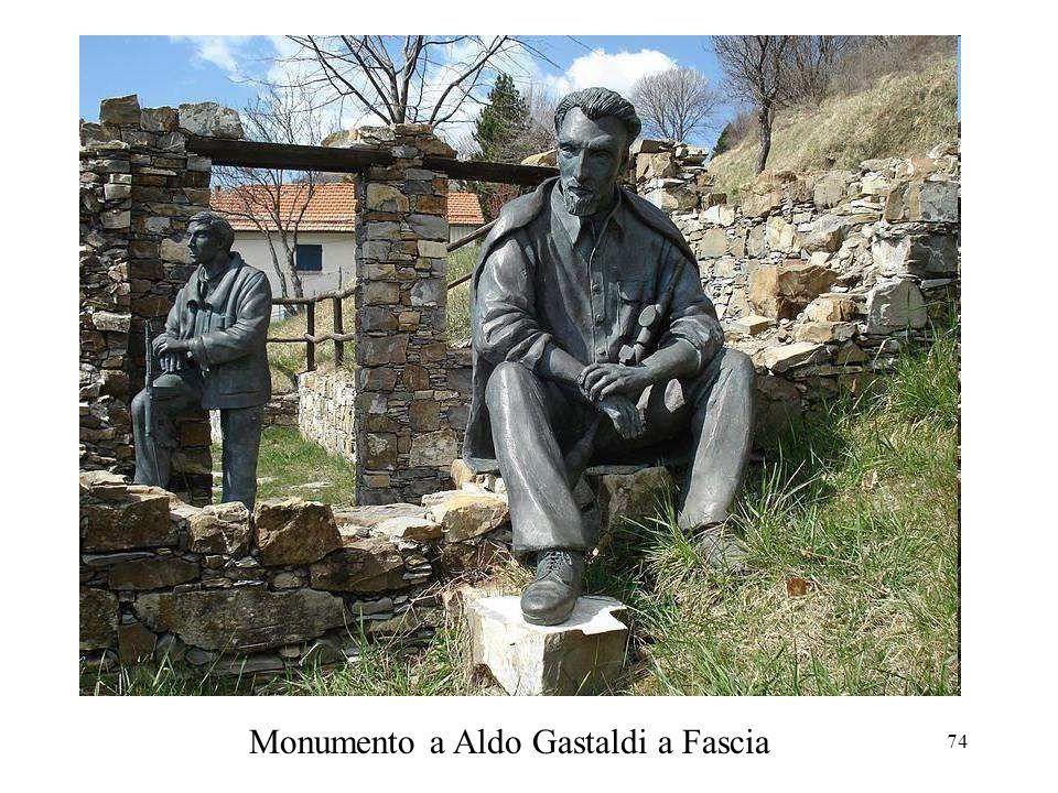 Monumento a Aldo Gastaldi a Fascia