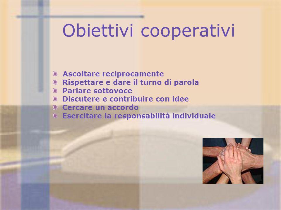 Obiettivi cooperativi