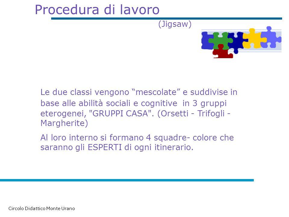Procedura di lavoro (Jigsaw)
