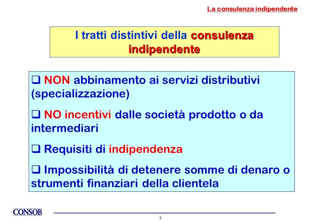La consulenza indipendente