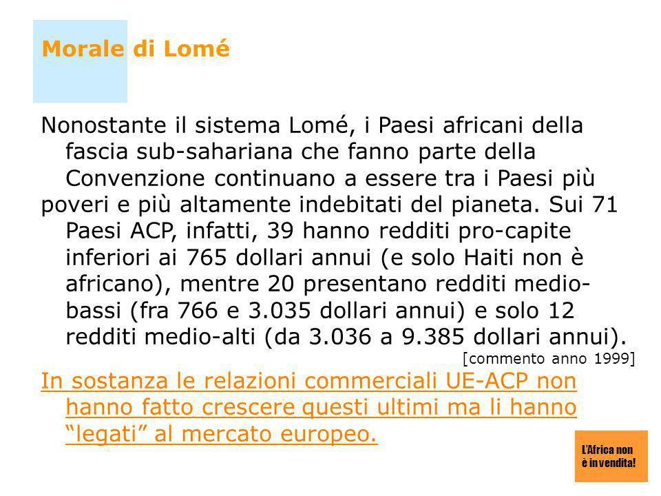 Morale di Lomé