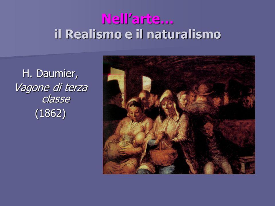 Nell'arte… il Realismo e il naturalismo