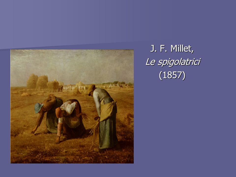 J. F. Millet, Le spigolatrici (1857)