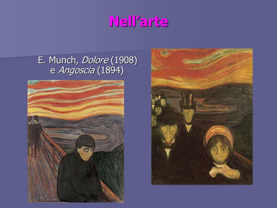 E. Munch, Dolore (1908) e Angoscia (1894)