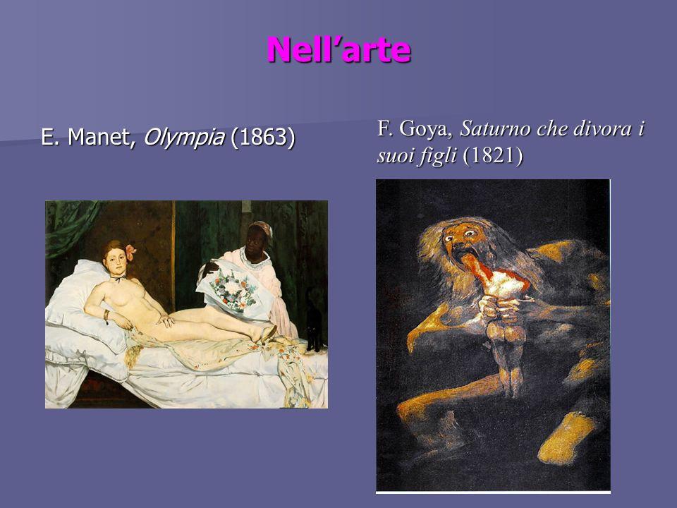 Nell'arte F. Goya, Saturno che divora i suoi figli (1821)