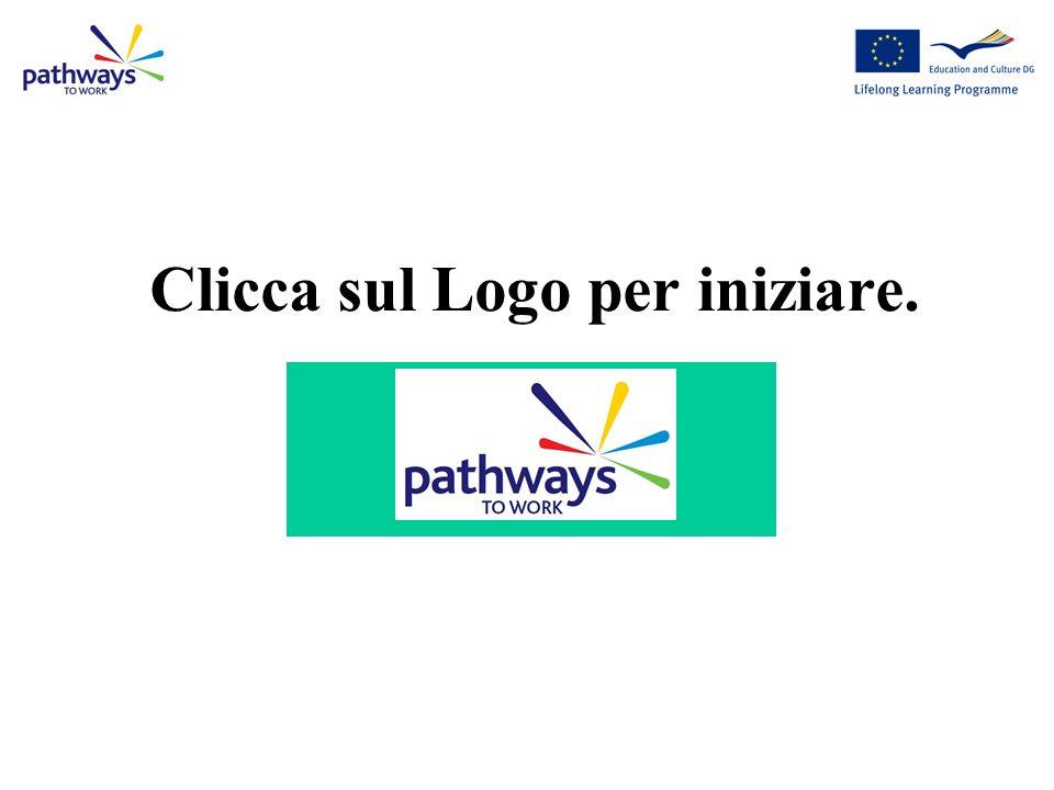 Clicca sul Logo per iniziare.