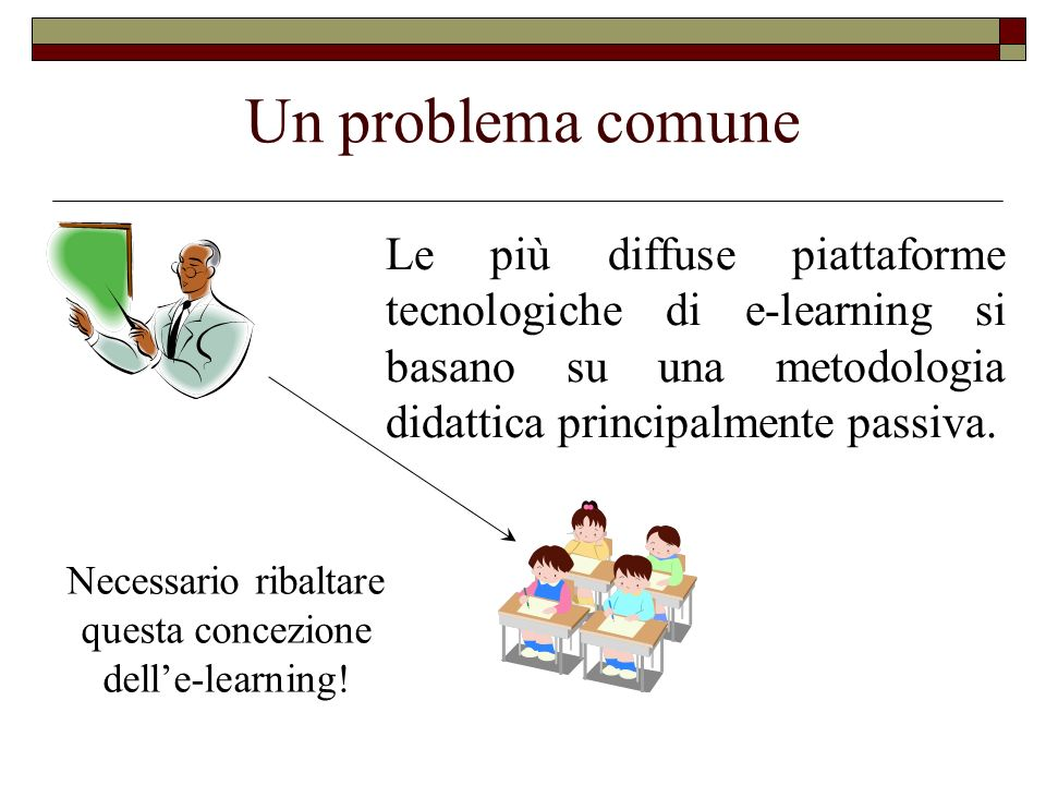 Necessario ribaltare questa concezione dell'e-learning!
