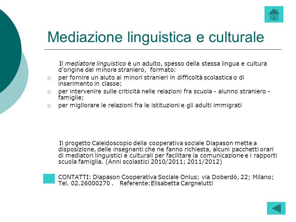Mediazione linguistica e culturale