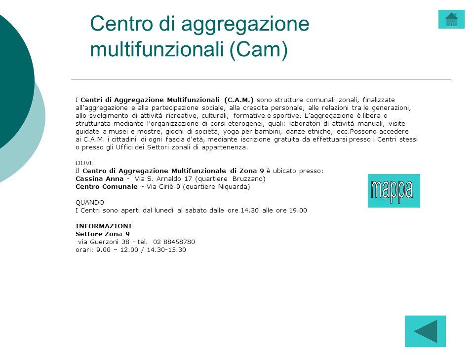 Centro di aggregazione multifunzionali (Cam)