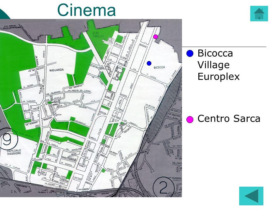 Cinema Bicocca Village Europlex Centro Sarca