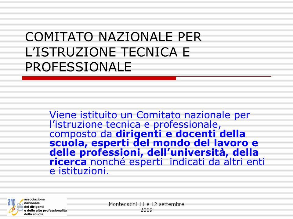 COMITATO NAZIONALE PER L'ISTRUZIONE TECNICA E PROFESSIONALE