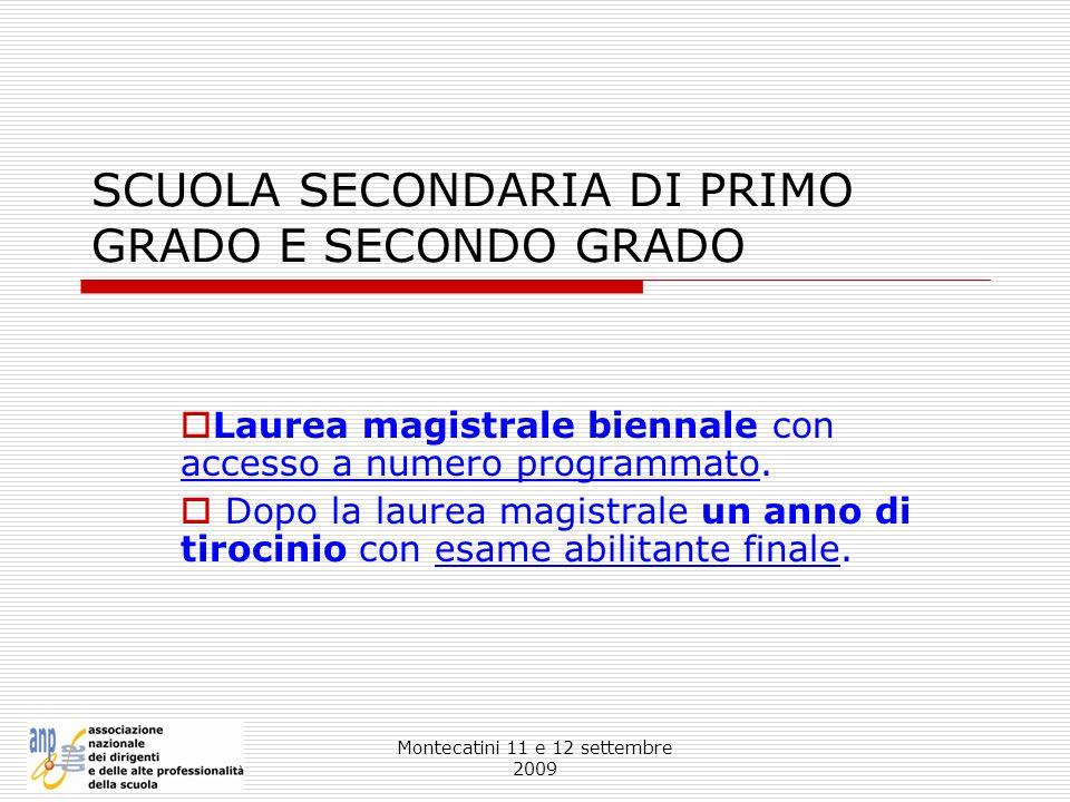 SCUOLA SECONDARIA DI PRIMO GRADO E SECONDO GRADO