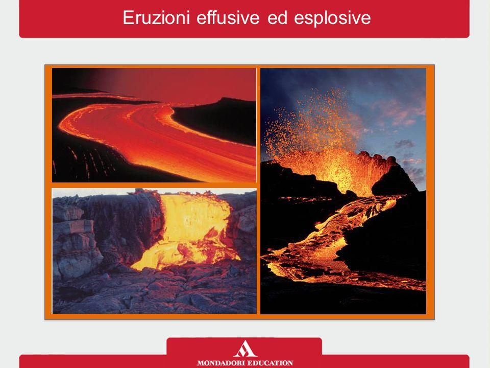 Eruzioni effusive ed esplosive