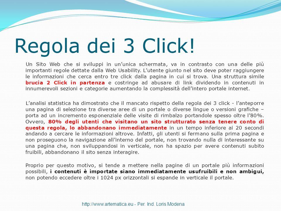 Regola dei 3 Click!