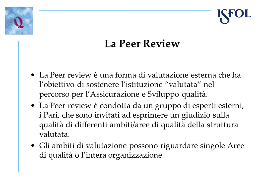 La Peer Review