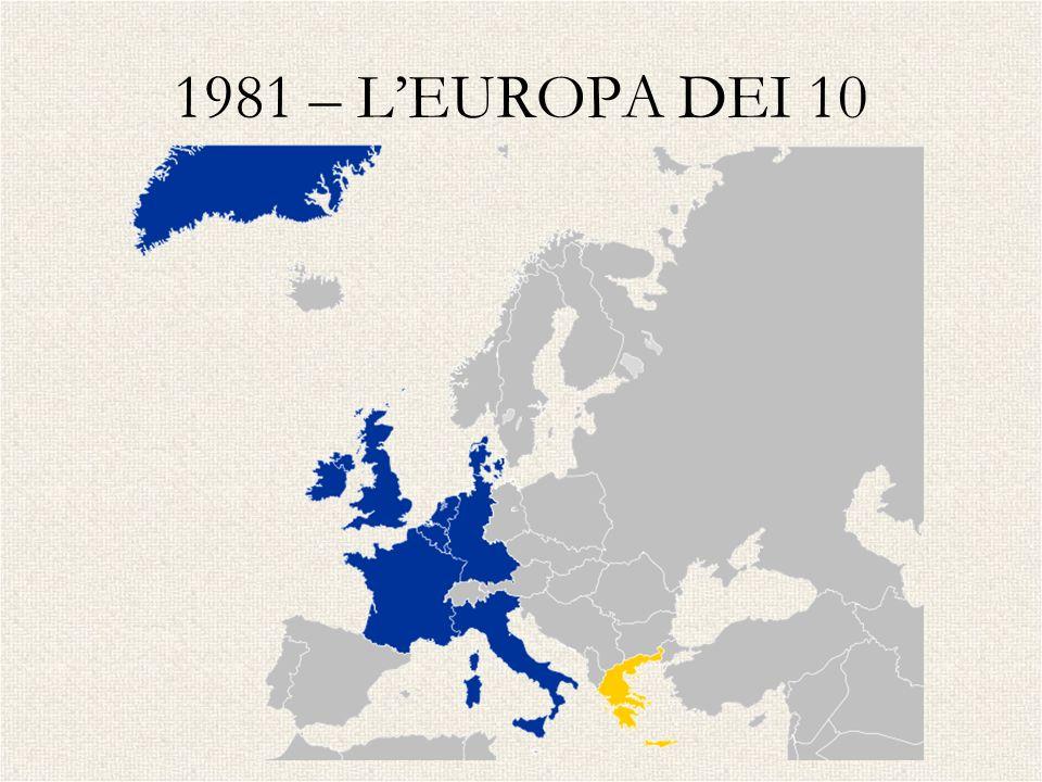 1981 – L'EUROPA DEI 10 GRECIA