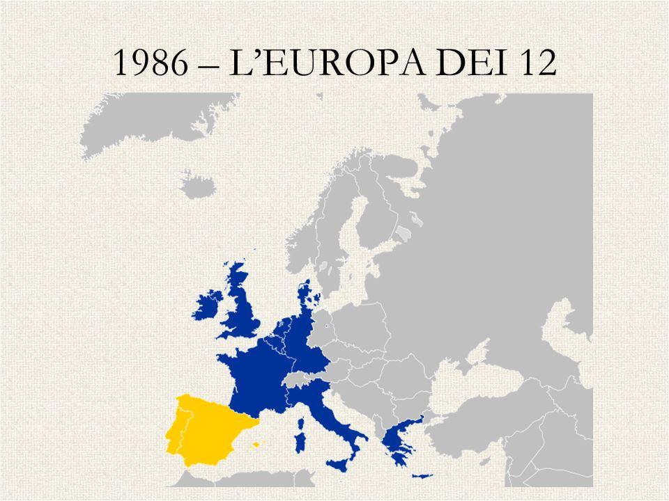 1986 – L'EUROPA DEI 12 SPAGNA - PORTOGALLO