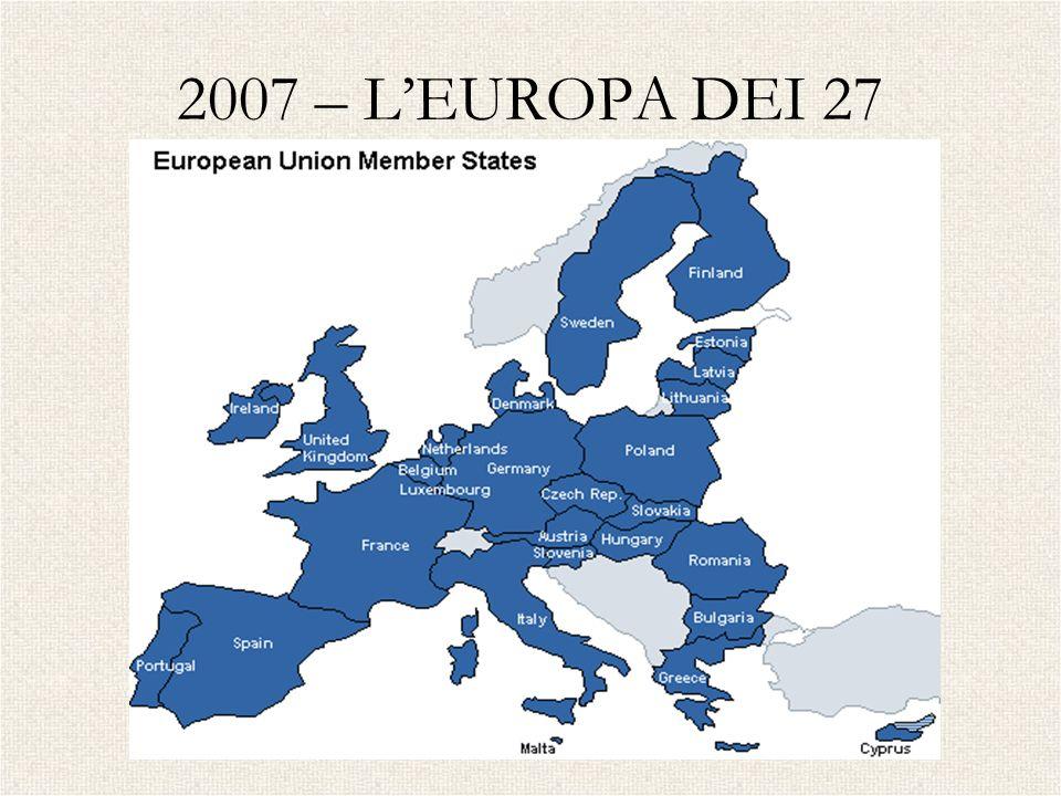 2007 – L'EUROPA DEI 27 BULGARIA - ROMANIA