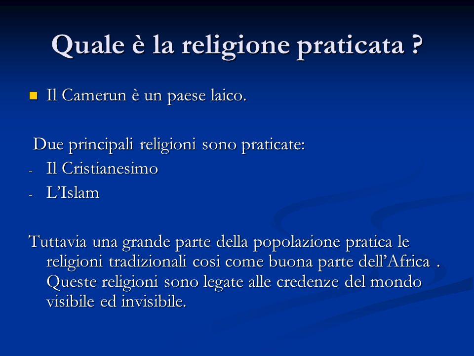 Quale è la religione praticata
