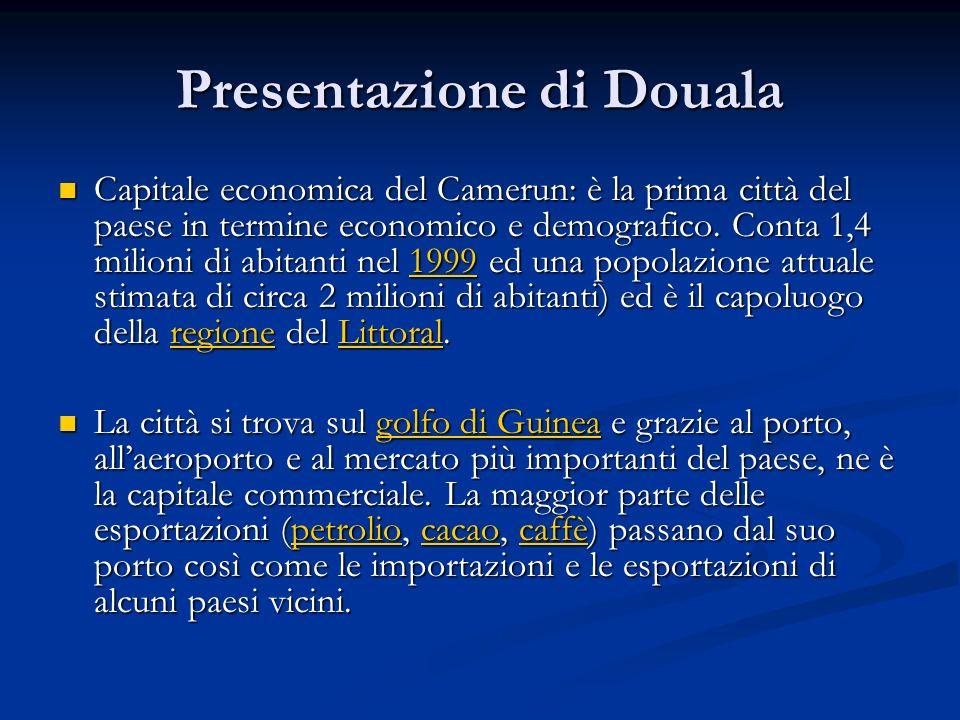 Presentazione di Douala