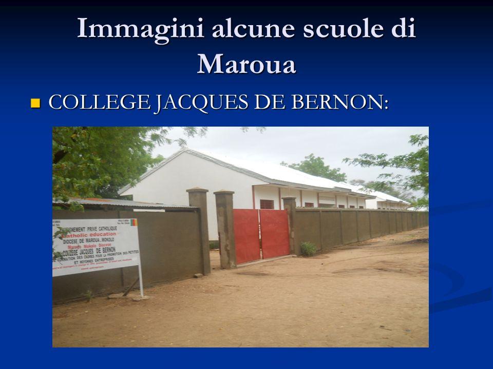 Immagini alcune scuole di Maroua