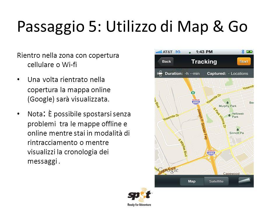 Passaggio 5: Utilizzo di Map & Go