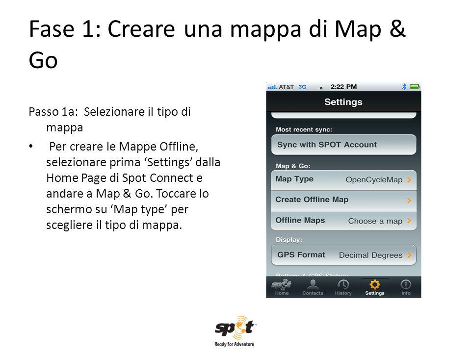 Fase 1: Creare una mappa di Map & Go