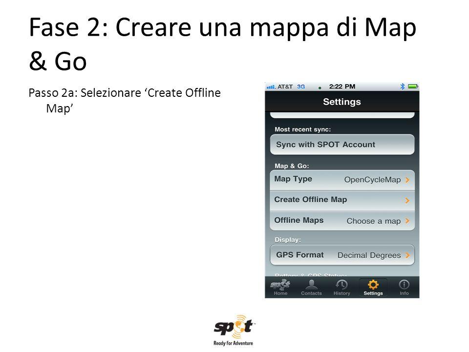 Fase 2: Creare una mappa di Map & Go