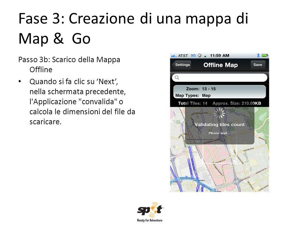 Fase 3: Creazione di una mappa di Map & Go