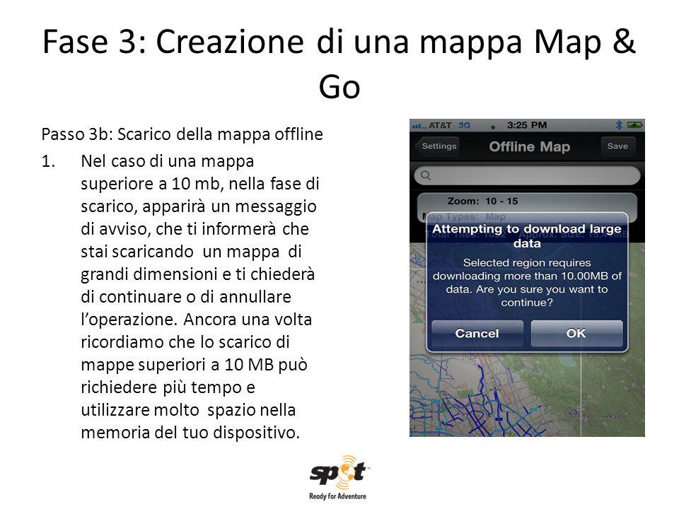 Fase 3: Creazione di una mappa Map & Go
