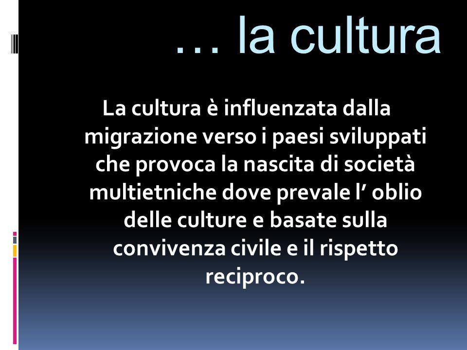 … la cultura