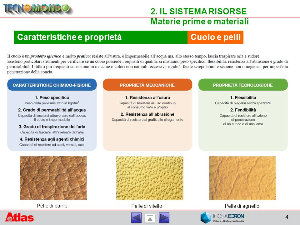 Materie prime e materiali