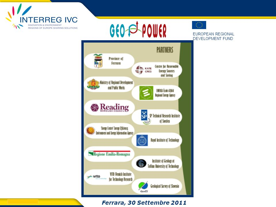 Ferrara, 30 Settembre 2011 Ferrara 30 Settembre 2011