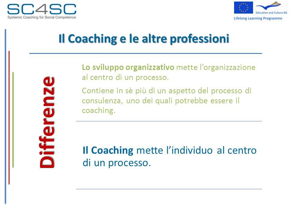 Il Coaching e le altre professioni
