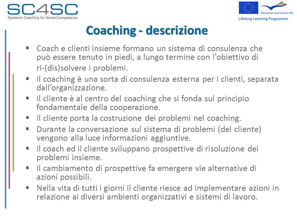 Coaching - descrizione