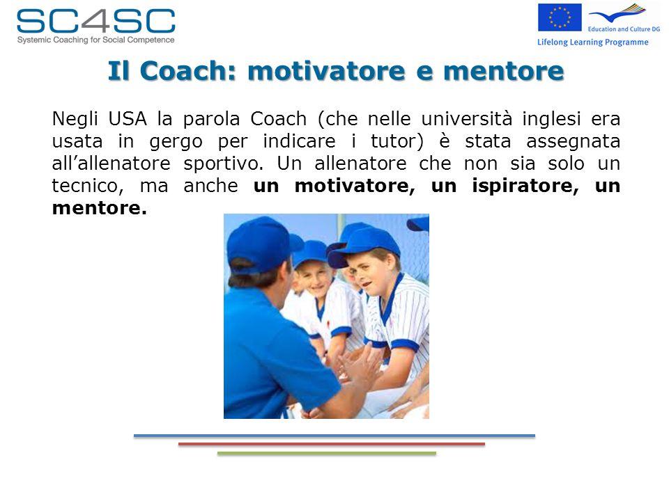 Il Coach: motivatore e mentore