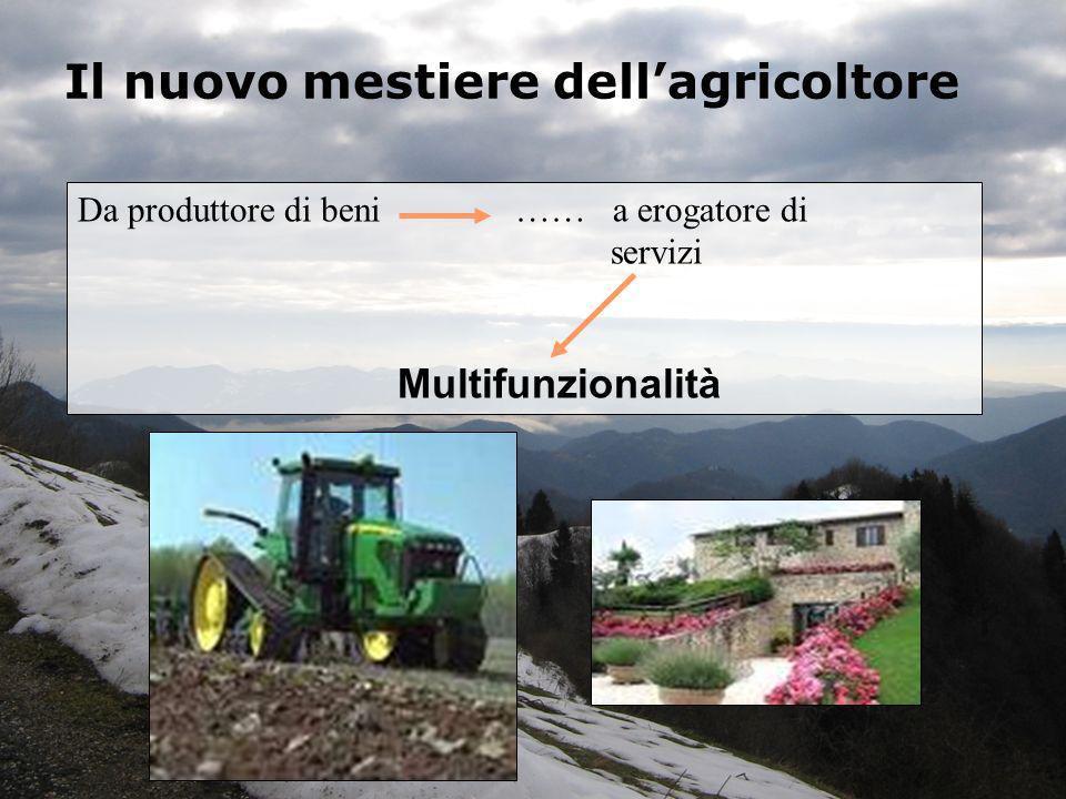 Il nuovo mestiere dell'agricoltore