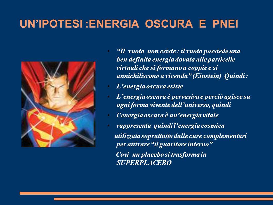 UN'IPOTESI :ENERGIA OSCURA E PNEI