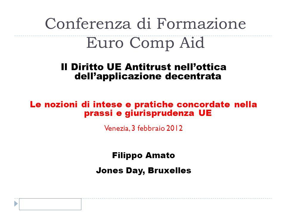 Conferenza di Formazione Euro Comp Aid