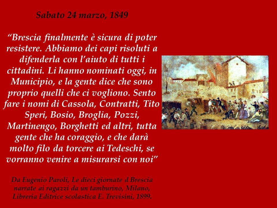 Sabato 24 marzo, 1849