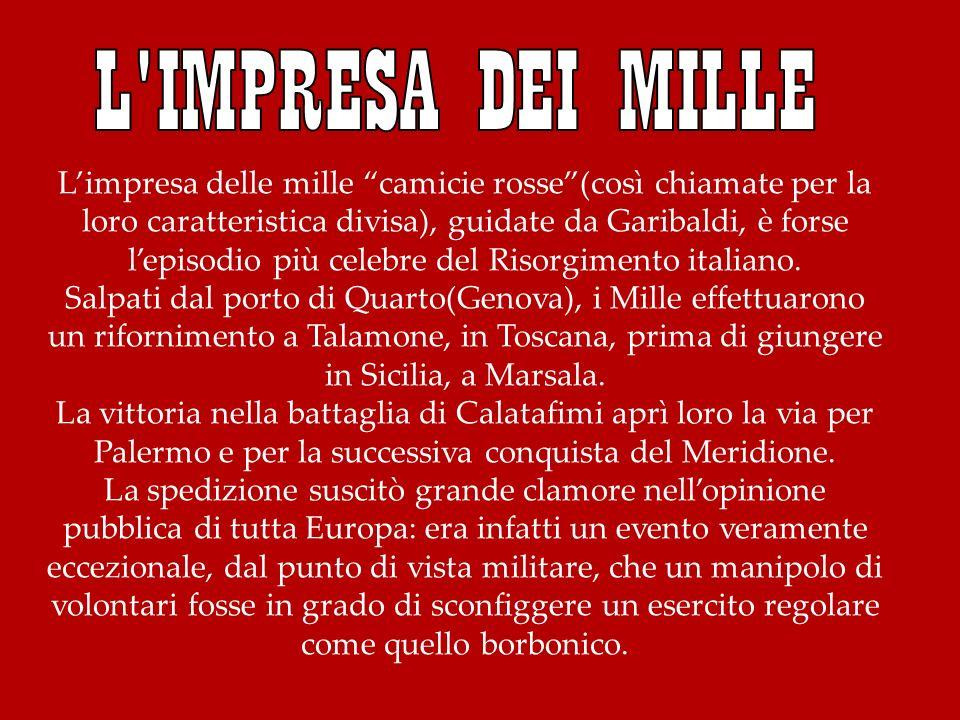 L IMPRESA DEI MILLE