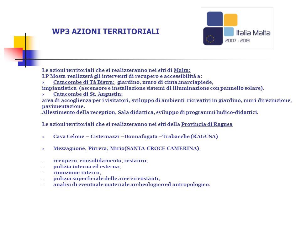 WP3 AZIONI TERRITORIALI