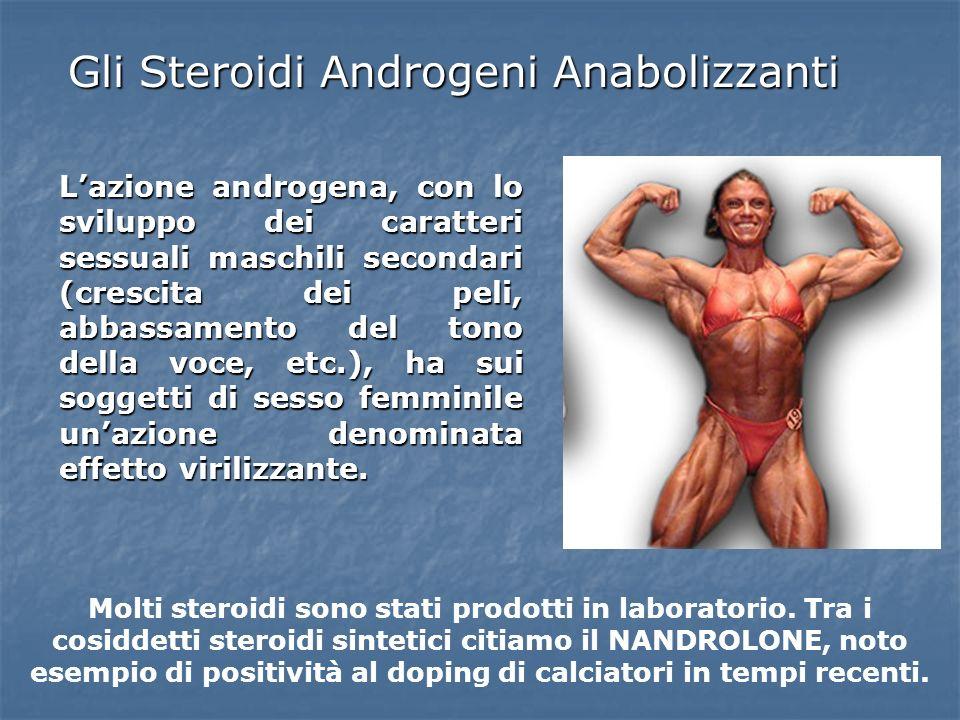Gli Steroidi Androgeni Anabolizzanti