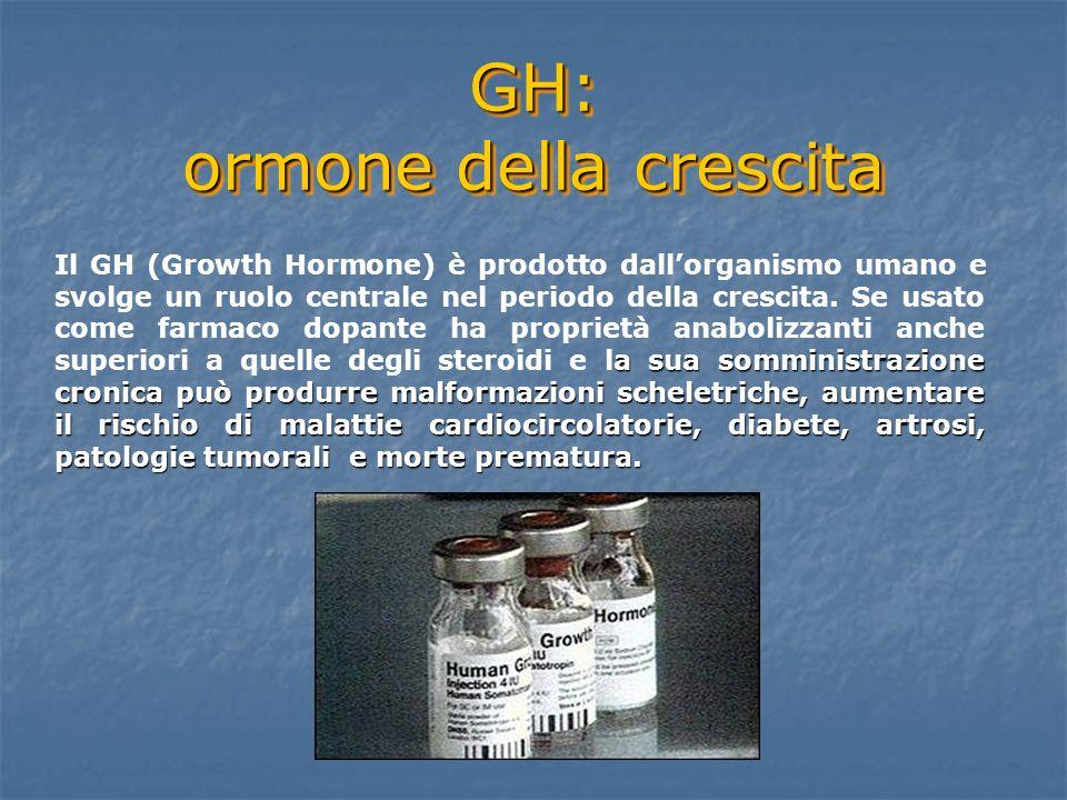 GH: ormone della crescita