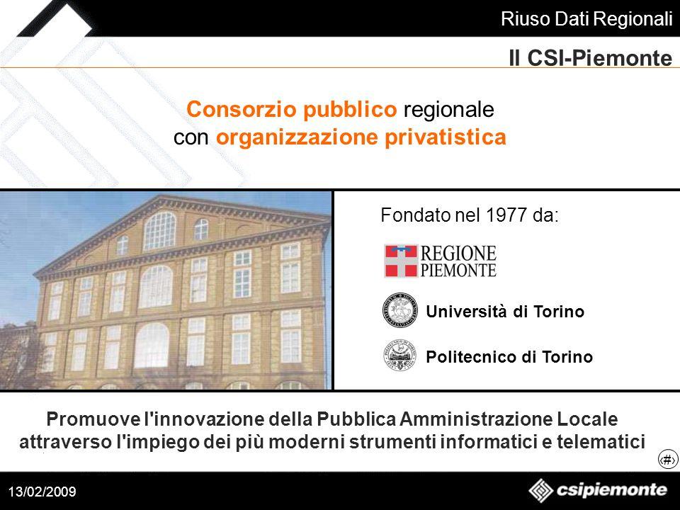 Consorzio pubblico regionale con organizzazione privatistica