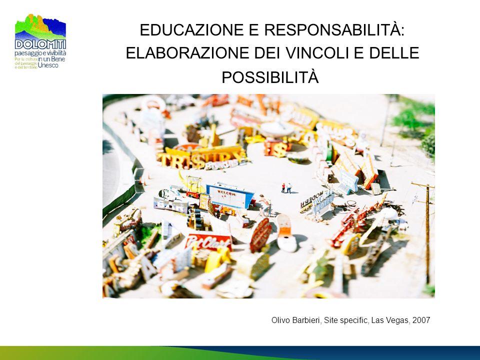 EDUCAZIONE E RESPONSABILITÀ: