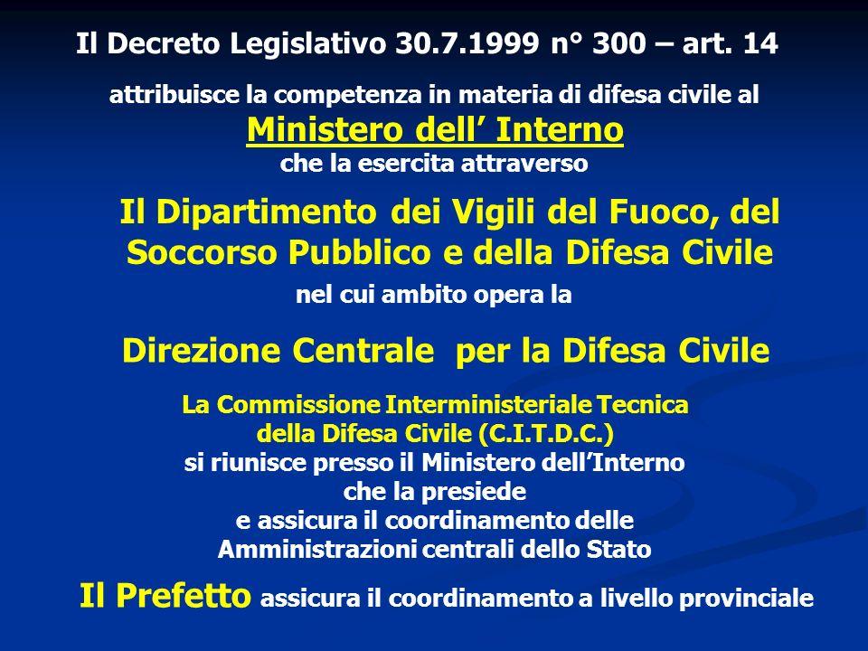 Direzione Centrale per la Difesa Civile