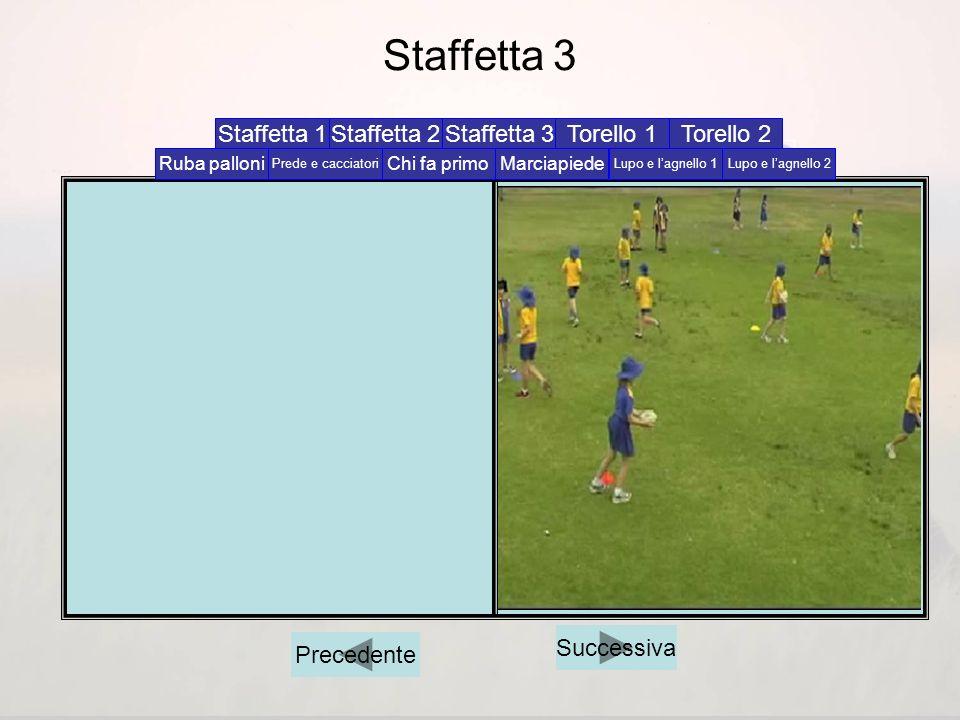 Staffetta 3 Staffetta 1 Staffetta 2 Staffetta 3 Torello 1 Torello 2