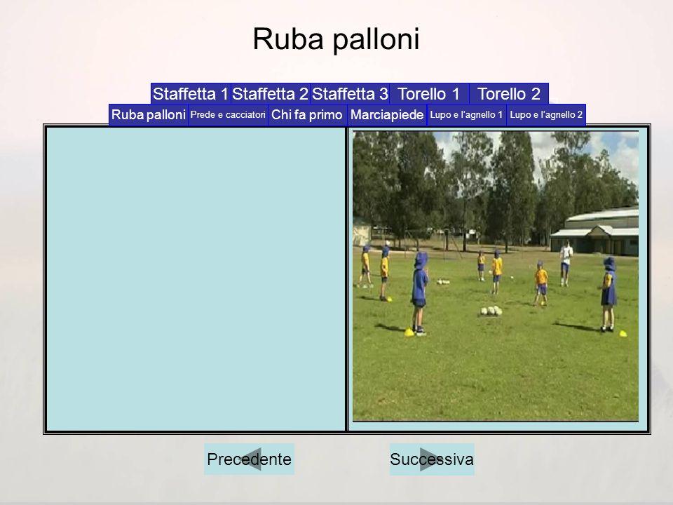 Ruba palloni Staffetta 1 Staffetta 2 Staffetta 3 Torello 1 Torello 2